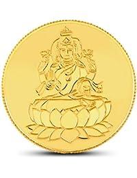 CaratLane 10gm Lakshmi Gold Coin