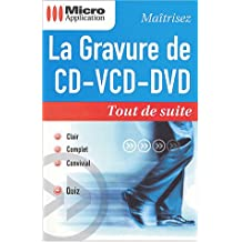 La gravure de CD/VCD/DVD