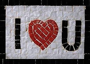 Trois petits points Juego de Tres pequeños Puntos - Kit Mosaico Completo - Love Maxi, 6192459600260 - Universal