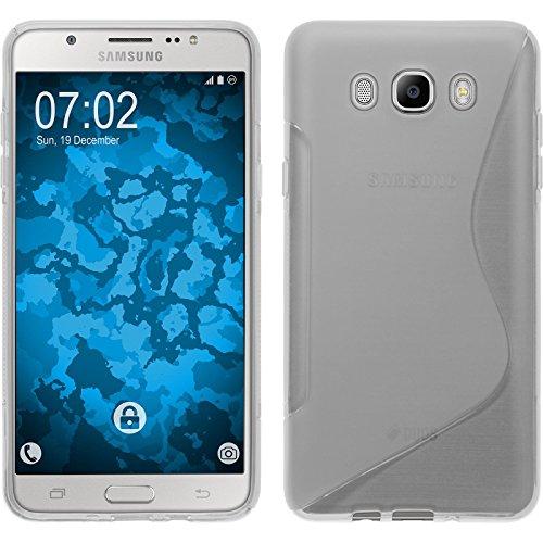 Funda de silicona para Samsung Galaxy J7 (2016) J710 - S-Style transparente...