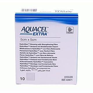 AQUACEL AG + Extra 5x5cm Compresses 10Pieces