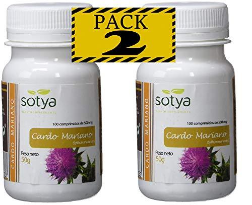 SotyaBelsan Cardo Mariano 500 mg 200 comprimido2 botes