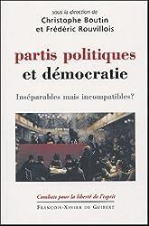 Partis politiques et démocratie : Inséparables mais incompatibles ?