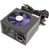 Fuente de alimentación de 220VAC PC 600W ATX-EPS12V silenciosa - Cablematic