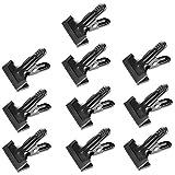 Neewer 10-Pack Set Schwerlast Muslin Feder Klemmen, Federn, 4 1/4 Zoll für Fotostudio Hintergründe Holzverarbeitung