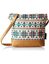 Kanvas Katha  Women Sling Bag (Multicolor)(KKSAMZAUG003)