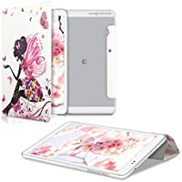 kwmobile Funda para Huawei MediaPad T1 10 - Carcasa Inteligente [Ultrafina] de [Cuero
