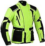 Grün Motorrad Jacke Hochsichtbare Wasserdicht und reflektierendes - grün, M, Grün