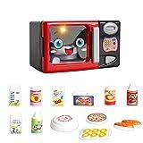 Baoblaze Kinder Spielküche Spielzeug, Mini Küchen- und Haushaltsgeräte Kochgeschirr Spielzeug - Mikrowelle