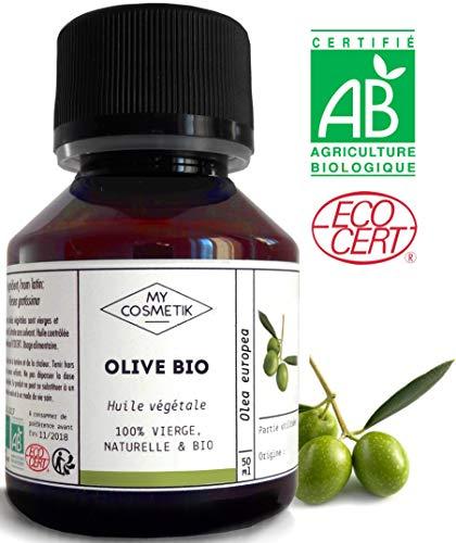Huile végétale d'Olive BIO - MyCosmetik - 125 ml