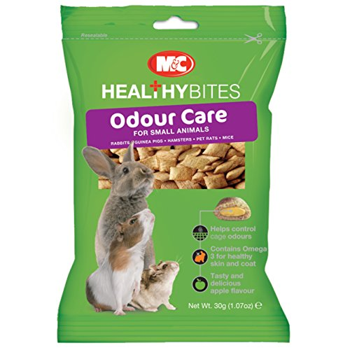 Mark & Chappell Healthy Bites Geruchs-Sorgfalt für kleine Tiere (30gr) (Kann Variiren)