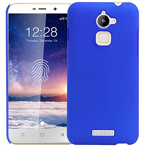 WOW Imagine™ Rubberised Matte Hard Case Back Cover For COOLPAD NOTE 3 LITE (5.0 inch) - BLUE