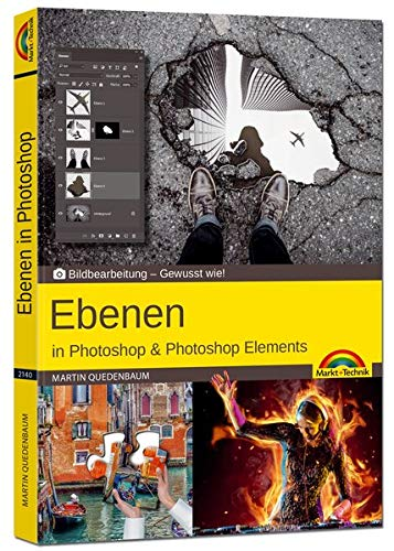 Ebenen in Adobe Photoshop CC und Photoshop Elements - Gewusst wie Buch-Cover