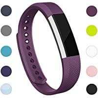 AdePoy Replacement Strap Bands Compatible for Fitbit Alta/Alta HR, Adjustable Sport Smartwatch Fitness Wristband for Women Men Small/Large