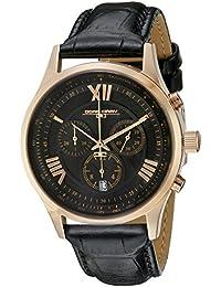 Jorg Gray Herren-Armbanduhr XL Analog Quarz Leder JG6600-21
