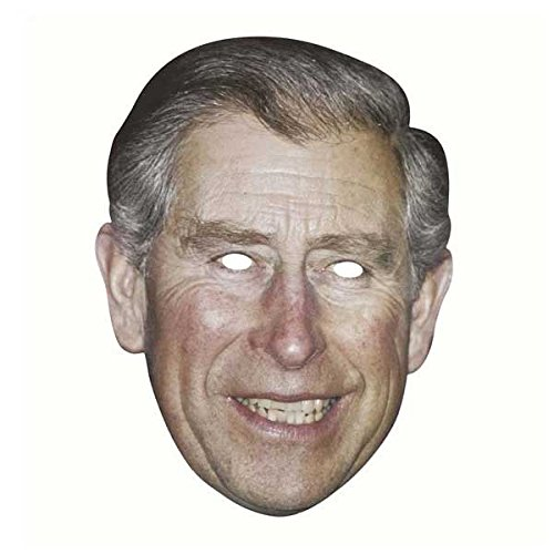 (Berühmte Maske - Celebrity Face Mask - Prince Charles)