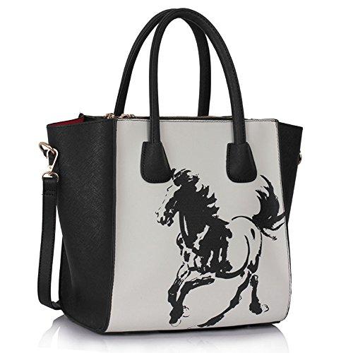 leahward-large-womens-tote-bags-nice-great-brand-handbags-61-horse-bk-white