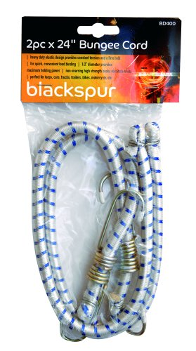 kktick 10 pezzi set di cinghie di  Prezzo Blackspur Corda elastica resistente con ganci set di su ...