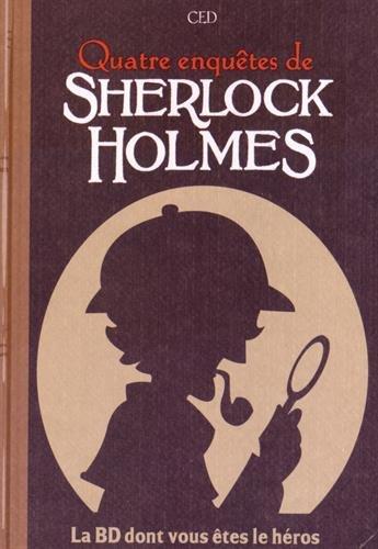 4 Enquêtes de Sherlock Holmes par Ced