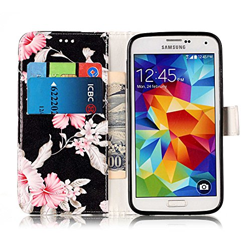 Cover per Samsung Galaxy S5 / S5 Neo Ultra Slim ,Custodia per Samsung Galaxy S5 / S5 Neo,Sunroyal Marmo Flip Libro Stand Case Cover in PU pelle Borsa e Portafoglio Wallet TPU Silicon Gel Protezione Ch Modello 06