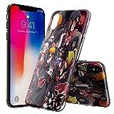 iPhone X Coque, KALKDA TPU Téléphone D'absorption De Choc Anti-Scratch Supporter La Charge Sans Fil Pour iPhone X 5.8' ( Crystal Clear) - KALKDAOG000271