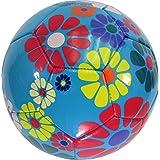 Vizari Blossom Soccer Ball, Blue/Pink, 3