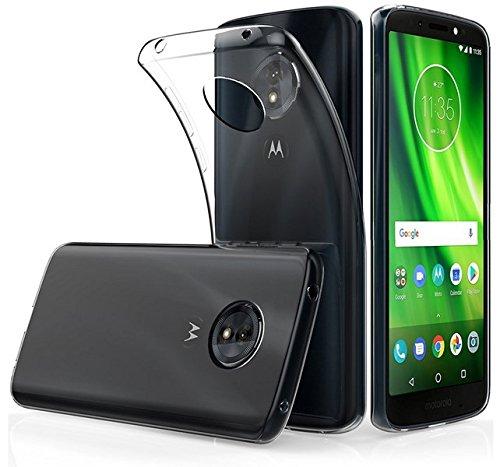 Tumundosmartphone Funda de Gel TPU Fina Ultra-Thin 0,5mm Transparente para Motorola Moto...