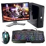 Rii RK400 LED-Hintergrundbeleuchtung 7 Farben Helligkeit USB wasserdicht Gaming Tastatur und Maus Set, maus mit 1000-1600-2000 DPI und 4 Tasten, QWERTZ DE Layout für Pro Gamer schwarz(Gaming Tastatur und Maus Set) - 6