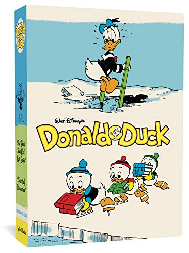 Preisvergleich Produktbild Walt Disney's Donald Duck Gift Box Set: Ghost Sheriff of Last Gasp (Vol. 15) and Secret of Hondorica (Vol. 17) (Carl Barks Library)