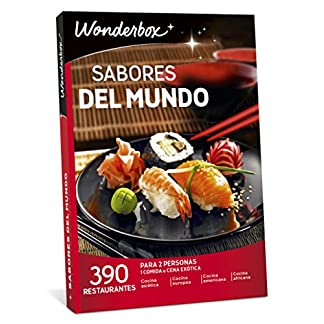 caja regalo wonderbox restaurantes