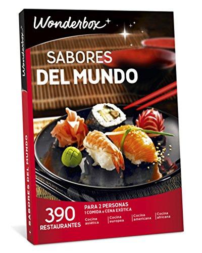 caja regalo wonderbox restaurantes