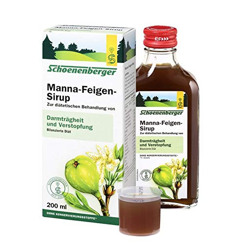 Schoenenberger Manna-Feigen-Sirup, 1er Pack (1 x 200 ml) - Bio