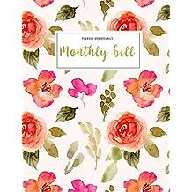 Monthly Bill Planner and Organizer: monthly bill payment book | 3 Year Calendar 2020-2022 Bill planner Worksheet | Weekly Expense Tracker Bill ... design Gift (Financial Planner Budget Book)