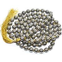 Golden Pyrite Mala Natural Gemstone Stone Beads Size - 8mm Chakra Balancing Crystal Healing Stone Free Lapis Lazuli... preisvergleich bei billige-tabletten.eu