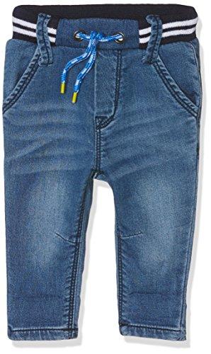 Grain de Blé Baby-Jungen Jeanshose Pant. Denim Blau (Indigo), 6-9 Monate (Herstellergröße: 6M)