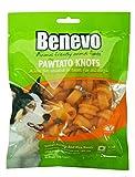 4er-SET Benevo Veganer Kauknochen für Hunde aus Süßkartoffeln 150g (Nicht Bio)