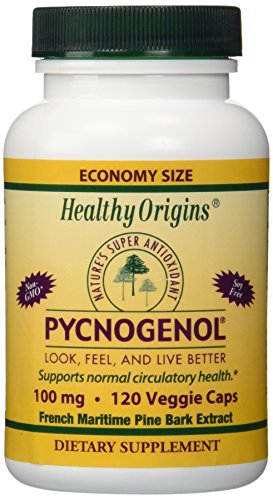 PYCNOGENOL 100 Mg Vegetable Caps 120 Vcaps