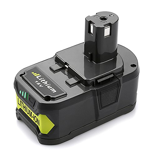 Energup 18V 4.0Ah RB18L40 Ersatz Akku für Ryobi ONE+ P104 P105 P102 P103 P107 P108 18V Werkzeug (P105 Ryobi)