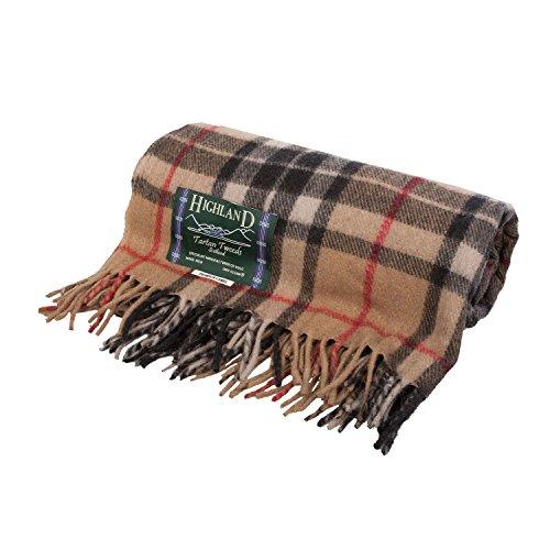Highland 100/% Tweed di Lana da Tiro Gilet Gilet Classico su Misura Qualità