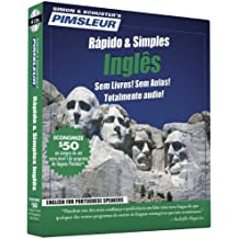 Pimsleur English for Portuguese (Brazilian) Speakers Quick & Simple Course - Level 1 Lessons 1-8 CD: Learn to Speak and Understand English for Portugu (Pimsleur Quick and Simple (ESL))
