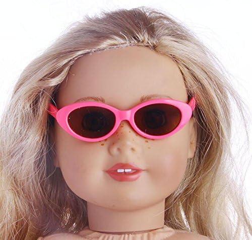 Driverder Accessoire Idéal Poupée Lunettes de poupée américaines de de  américaines 18 Pouces (Rosy) 3a9d15cda4d8