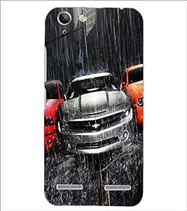 PrintDhaba Car D-5507 Back Case Cover for LENOVO VIBE K5 (Multi-Coloured)