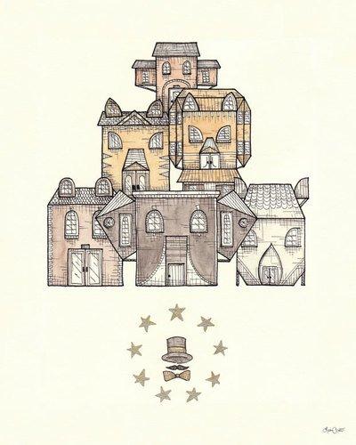 College-wohnheim-poster (Kleister Art Collective Ring Leader Gespannte Leinwand Kunst von Lisa Chow, 24von 30)
