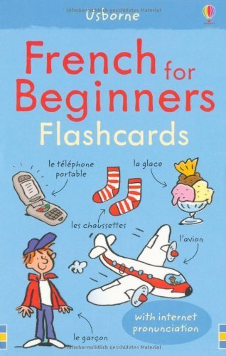 French for Beginners Flashcards (Usborne Language for Beginners Flashcards) by Christyan Fox (2010-02-26)