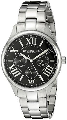 Stuhrling Original 391L.02 Orologio da Polso, Display Analogico, Donna, Cinturino Acciaio Inox, Argento