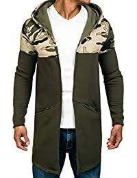 BOLF – Sweat-shirt á capuche – Manches longues – Hoodie – Motif – Homme [1A1]