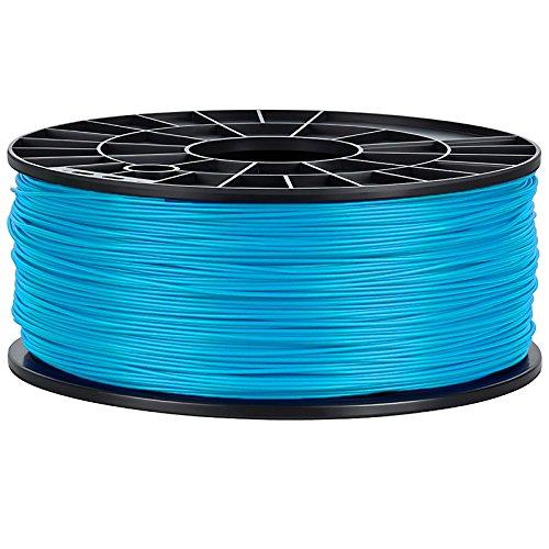 NuNus ABS Filament - 1kg (hellblau, 1,75mm) *Premium Qualität für 3D Drucker MakerBot RepRap MakerGear Ultimaker uvm....