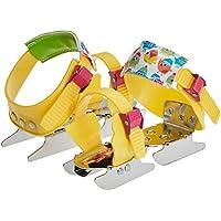 Nijdam Gleitschuh Junior Bob Skates verstellbar - Patines de patinaje sobre hielo , color amarillo, talla 24-34