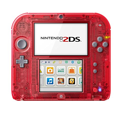 Console Nintendo 2DS - transparente rouge