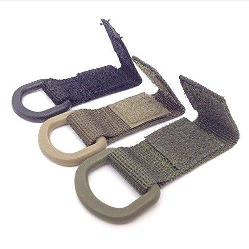 3Outdoor Tactical D-Ring Molle Gurtband Schnalle Haken Multifunktions Karabiner Nylon Arbeit für maximale Gurtband 35mm